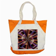 Background Image With Wheel Of Fortune Accent Tote Bag