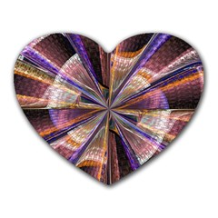 Background Image With Wheel Of Fortune Heart Mousepads