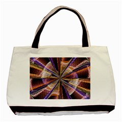 Background Image With Wheel Of Fortune Basic Tote Bag (Two Sides)