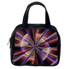 Background Image With Wheel Of Fortune Classic Handbags (One Side)