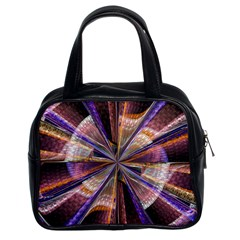 Background Image With Wheel Of Fortune Classic Handbags (2 Sides)