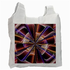 Background Image With Wheel Of Fortune Recycle Bag (One Side)