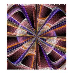 Background Image With Wheel Of Fortune Shower Curtain 66  x 72  (Large)