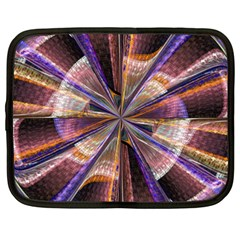 Background Image With Wheel Of Fortune Netbook Case (xxl)