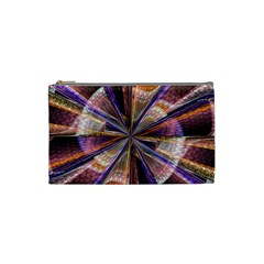 Background Image With Wheel Of Fortune Cosmetic Bag (Small)