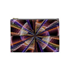 Background Image With Wheel Of Fortune Cosmetic Bag (medium)