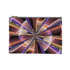 Background Image With Wheel Of Fortune Cosmetic Bag (large)
