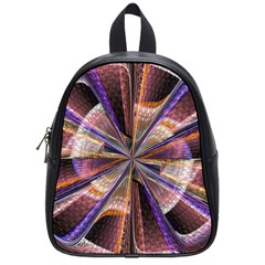 Background Image With Wheel Of Fortune School Bags (Small)