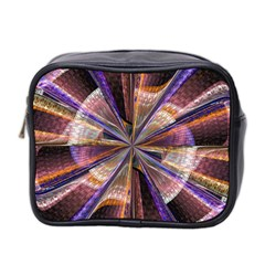 Background Image With Wheel Of Fortune Mini Toiletries Bag 2 Side