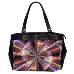 Background Image With Wheel Of Fortune Office Handbags (2 Sides)