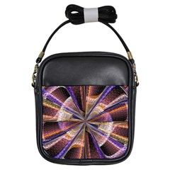 Background Image With Wheel Of Fortune Girls Sling Bags