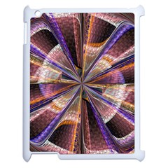 Background Image With Wheel Of Fortune Apple iPad 2 Case (White)