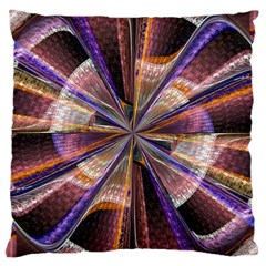 Background Image With Wheel Of Fortune Large Cushion Case (Two Sides)