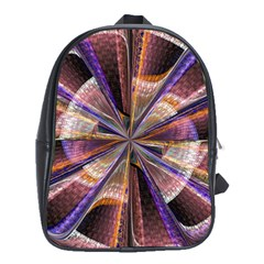 Background Image With Wheel Of Fortune School Bags (XL)