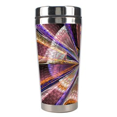 Background Image With Wheel Of Fortune Stainless Steel Travel Tumblers