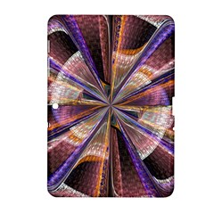 Background Image With Wheel Of Fortune Samsung Galaxy Tab 2 (10.1 ) P5100 Hardshell Case