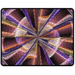 Background Image With Wheel Of Fortune Double Sided Fleece Blanket (Medium)