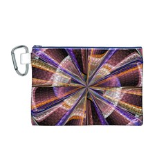 Background Image With Wheel Of Fortune Canvas Cosmetic Bag (M)