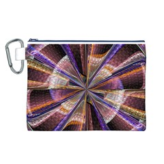 Background Image With Wheel Of Fortune Canvas Cosmetic Bag (L)