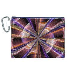 Background Image With Wheel Of Fortune Canvas Cosmetic Bag (xl)