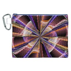Background Image With Wheel Of Fortune Canvas Cosmetic Bag (xxl)