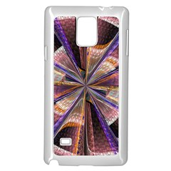 Background Image With Wheel Of Fortune Samsung Galaxy Note 4 Case (White)