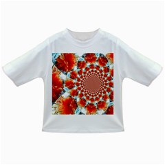 Stylish Background With Flowers Infant/toddler T Shirts