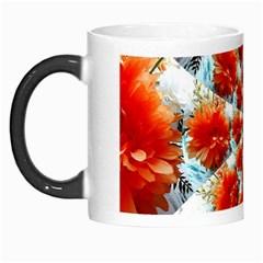 Stylish Background With Flowers Morph Mugs