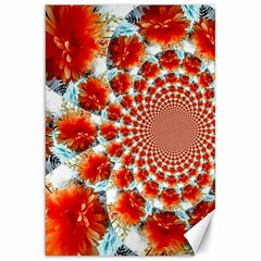 Stylish Background With Flowers Canvas 20  x 30
