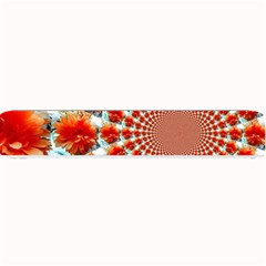 Stylish Background With Flowers Small Bar Mats