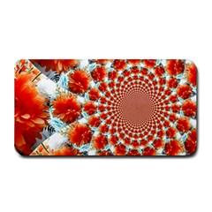 Stylish Background With Flowers Medium Bar Mats