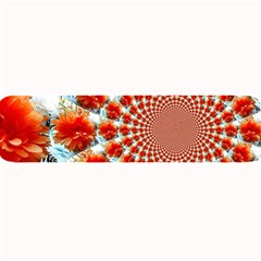 Stylish Background With Flowers Large Bar Mats