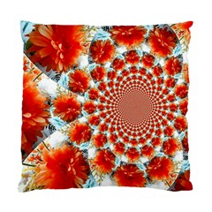 Stylish Background With Flowers Standard Cushion Case (One Side)