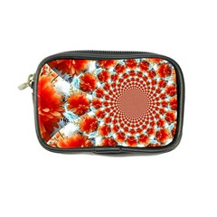 Stylish Background With Flowers Coin Purse