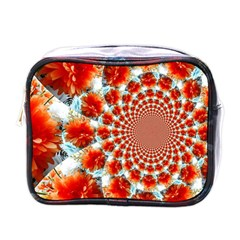 Stylish Background With Flowers Mini Toiletries Bags