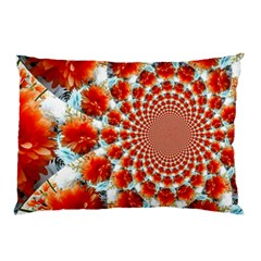 Stylish Background With Flowers Pillow Case (Two Sides)