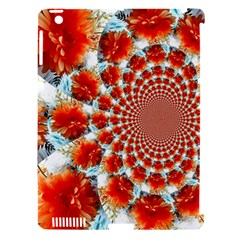 Stylish Background With Flowers Apple iPad 3/4 Hardshell Case (Compatible with Smart Cover)