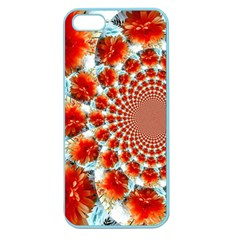 Stylish Background With Flowers Apple Seamless iPhone 5 Case (Color)