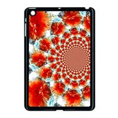 Stylish Background With Flowers Apple iPad Mini Case (Black)