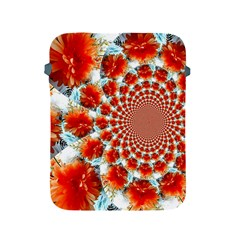 Stylish Background With Flowers Apple iPad 2/3/4 Protective Soft Cases