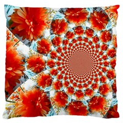 Stylish Background With Flowers Standard Flano Cushion Case (two Sides)