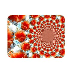 Stylish Background With Flowers Double Sided Flano Blanket (Mini)