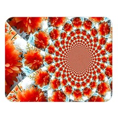 Stylish Background With Flowers Double Sided Flano Blanket (Large)