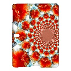 Stylish Background With Flowers Samsung Galaxy Tab S (10 5 ) Hardshell Case