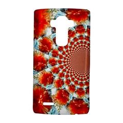 Stylish Background With Flowers LG G4 Hardshell Case