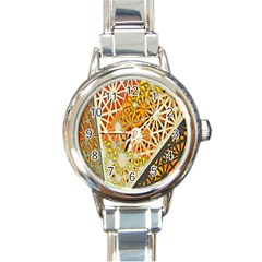 Abstract Starburst Background Wallpaper Of Metal Starburst Decoration With Orange And Yellow Back Round Italian Charm Watch