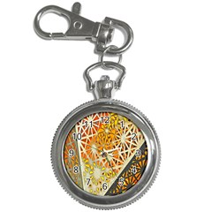 Abstract Starburst Background Wallpaper Of Metal Starburst Decoration With Orange And Yellow Back Key Chain Watches