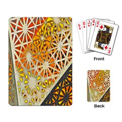 Abstract Starburst Background Wallpaper Of Metal Starburst Decoration With Orange And Yellow Back Playing Card