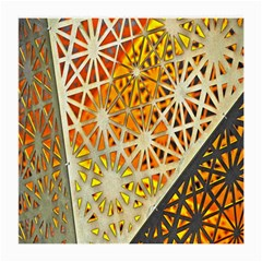 Abstract Starburst Background Wallpaper Of Metal Starburst Decoration With Orange And Yellow Back Medium Glasses Cloth