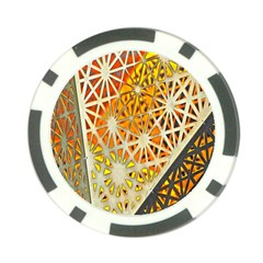 Abstract Starburst Background Wallpaper Of Metal Starburst Decoration With Orange And Yellow Back Poker Chip Card Guard